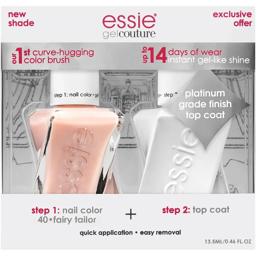 Essie Gel Couture Nail Kit + Top Coat Kit